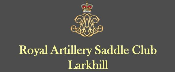 ROYAL ARTILLERY SADDLE CLUB LARKHILL